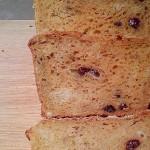 Carrot Ginger Raisin Bread