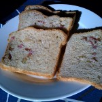 Pomegranate and Apple Bread with a touch of Mango!