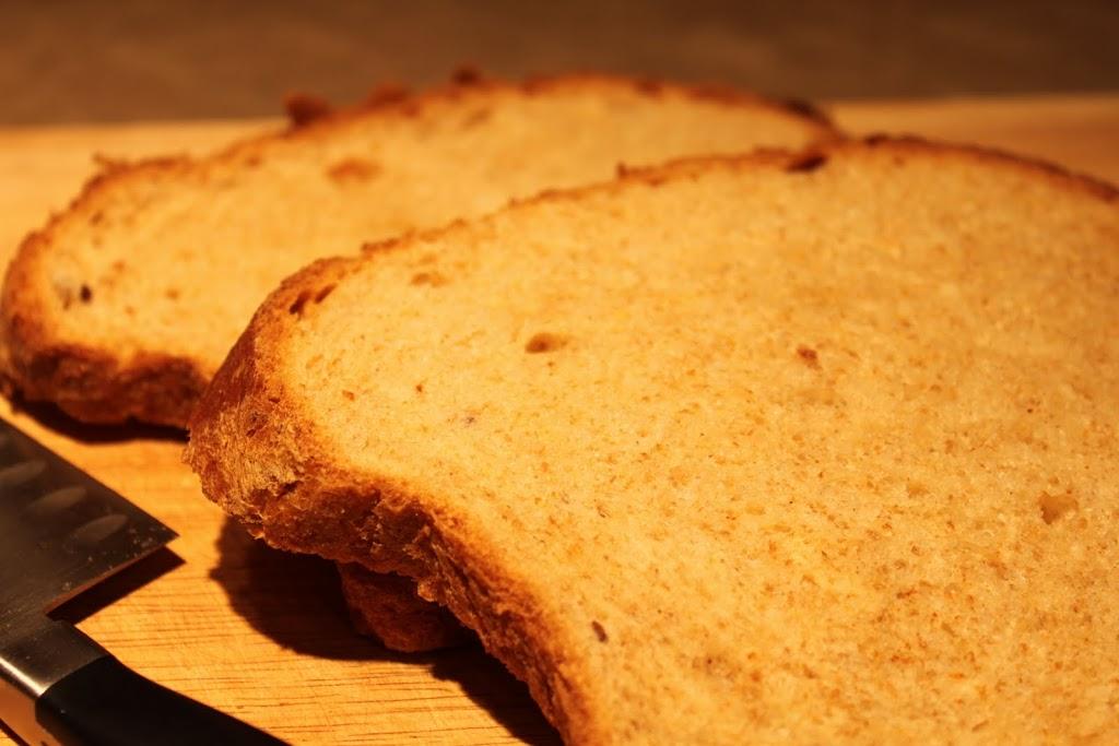 Maple Oat Wheat Bread!