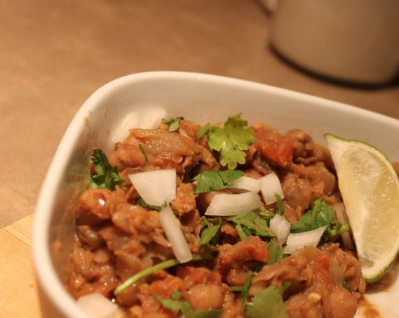 Everyday Chole! ( Garbanzo Beans curry)