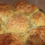 Green Tea(Matcha) Oats Flaxseed pull apart rolls (Vegan)