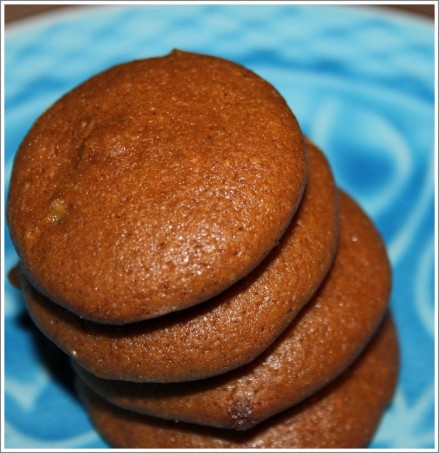 Ginger Molasses Cookies with Crystallized Ginger! (Vegan)
