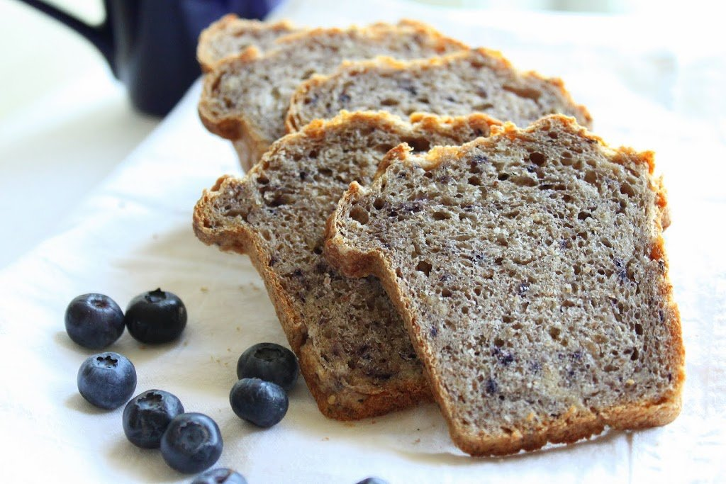 Multigrain Multifruit Mini Loaf. A mildly sweet fruit bread that makes a great snack by themselves or in combination with dips, fresh fruits, in salads, or with nut butters. Vegan Recipe. #veganricha #vegan