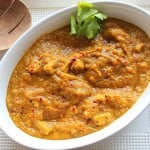 Mango Curry Tempeh. Restaurant curries in your kitchen. vegan glutenfree recipe
