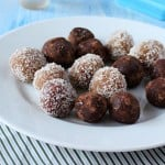 Coconut Almond Rum Balls! Glutenfree. Vegan Mofo Iron Chef Challenge 3. and rescue feature.