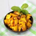 Potatoes with whole indian spices. Vegan. glutenfree