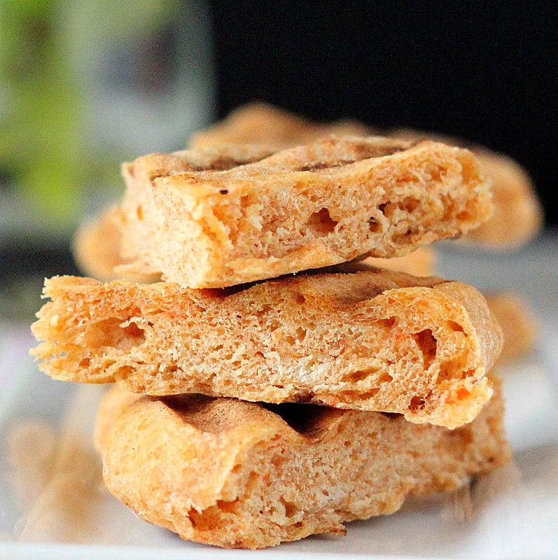 Tomato, wheat and sprouted quinoa Flat Bread. Vegan - Vegan Richa