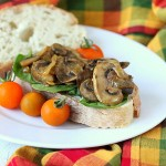 Mushroom Onion saute, mom's way! Vegan, glutenfree