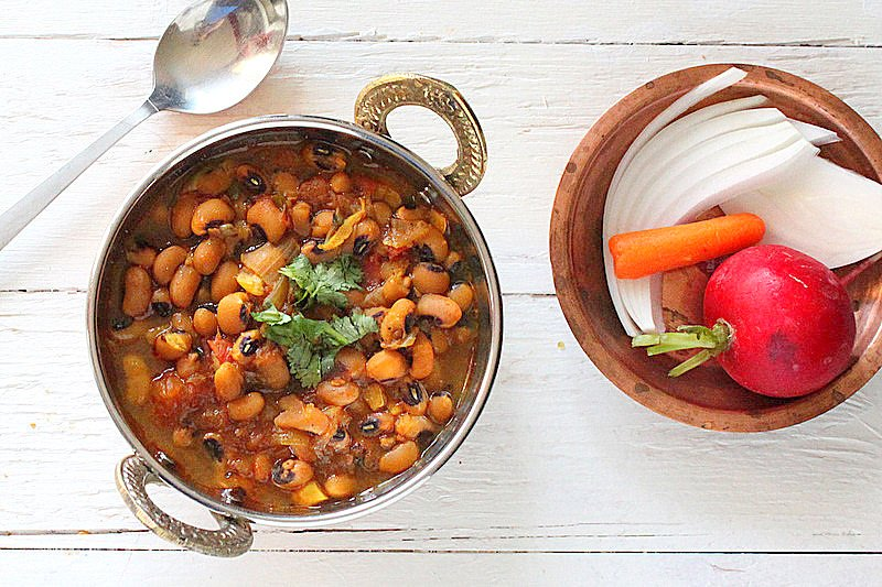Vegan black Eyed Pea Curry Indian Recipe | Vegan Richa