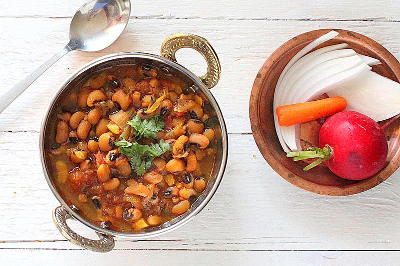 Vegan black Eyed Pea Curry Indian Recipe | Vegan Richa