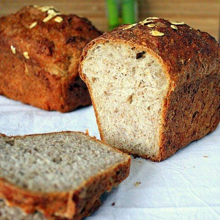 Sprouted Wheat Strawberry Bread Vegan. A guest post on Tongue Ticklers