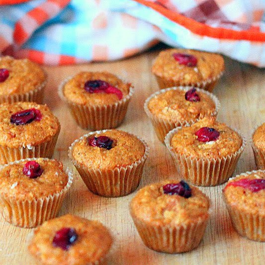 Carrot Cake Muffins Using Baby Food