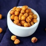 Roasted Garam masala chickpeas. Vegan glutenfree