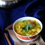 Yellow lentil Dal Stew/soup with Carrots and Zucchini/Brussels sprouts (Mung Daal) vegan glutenfree