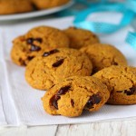 Carrot Almond Cranberry Muffin Top Cookies. Vegan