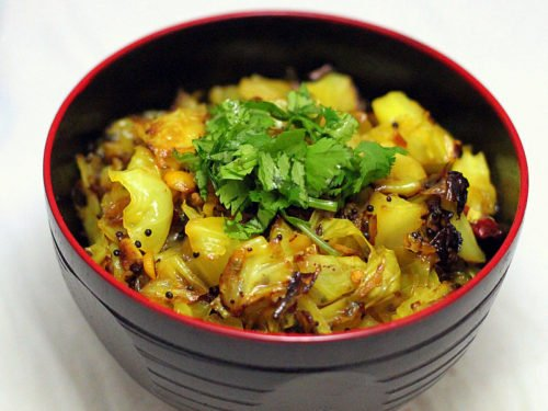Patta Gobi Sabzi Cabbage Stir Fry Vegan Glutenfree Vegan Richa