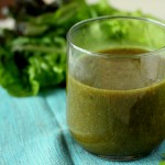 Chard, Lettuce, Pear, Ginger Smoothie.
