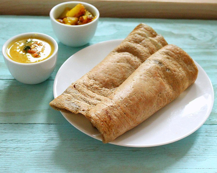 finally a dosa recipe dosas are the flat bread equivalent side with ...