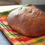 Faux Sourdough Bread – with fermented Dosa batter. Vegan