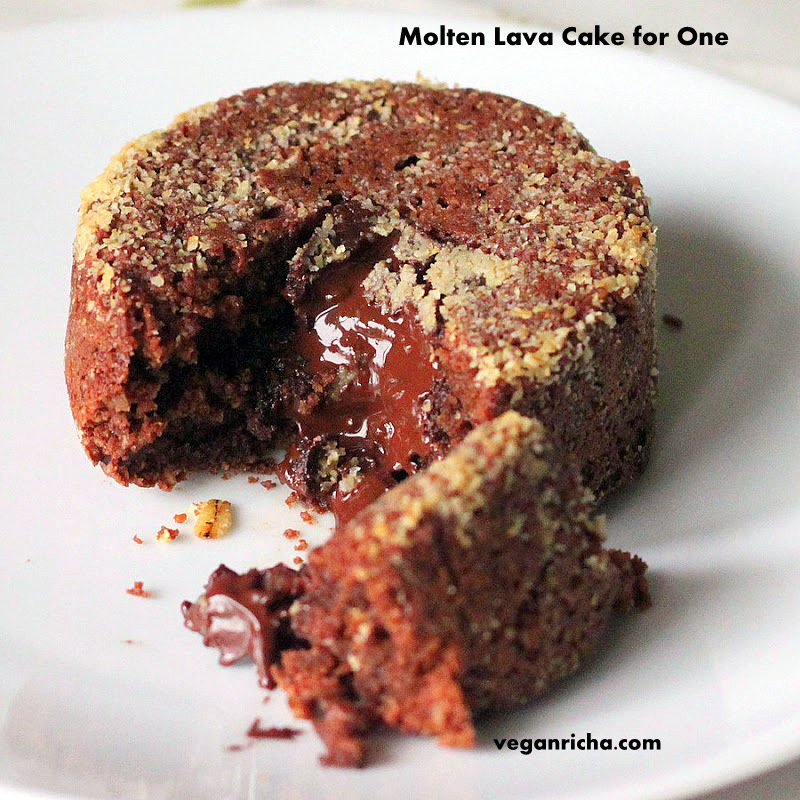 Dark Chocolate Molten Cake