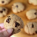 Chocolate Chip Cookies. Whole grain, low-fat Vegan