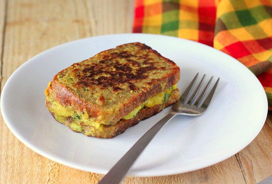 Vegan Samosa French Toasts