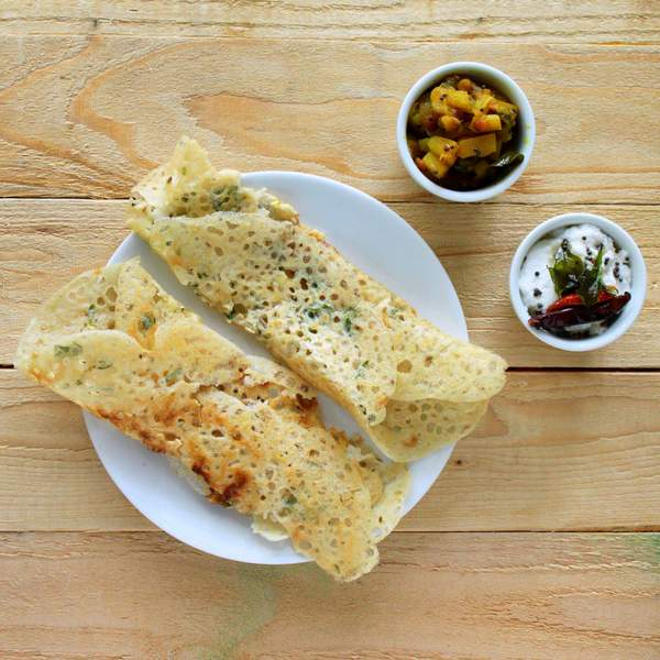 Gluten Free Rava Dosa Quick Indian Rice Flour Crepes With