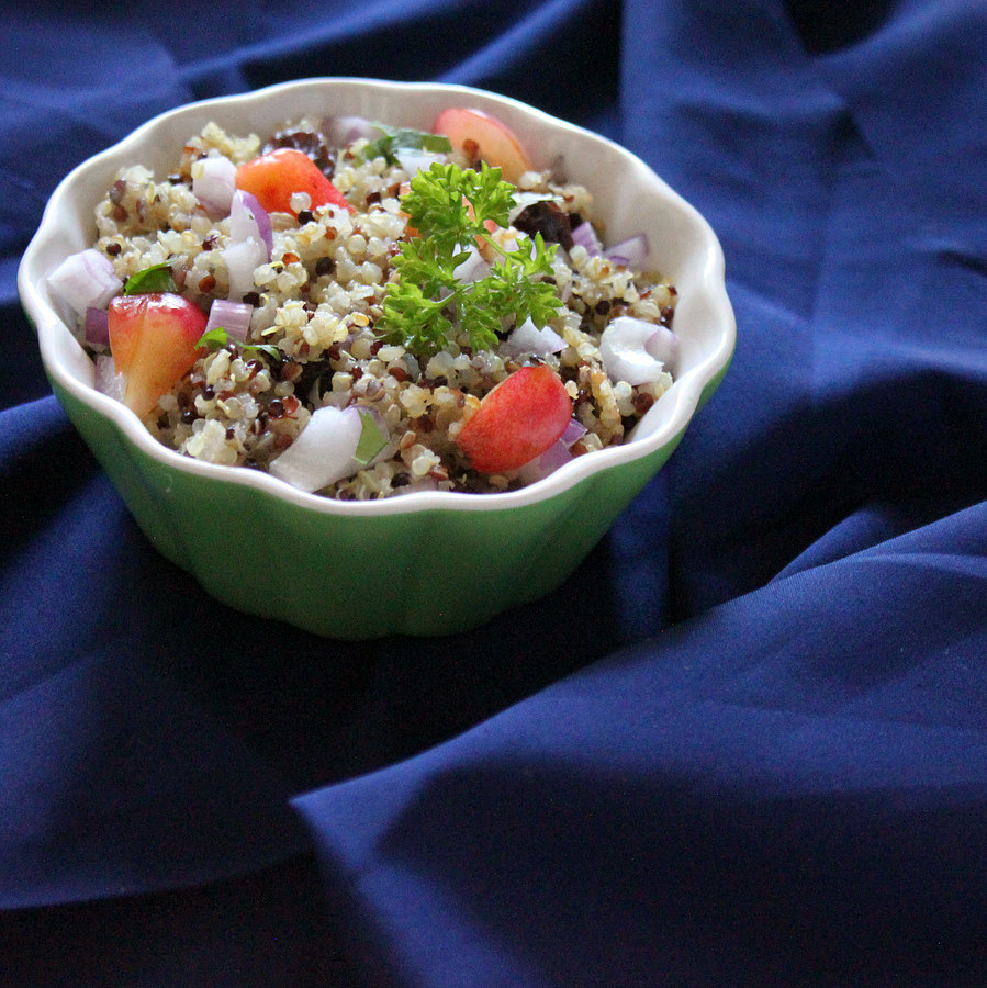 Vegan Richa:Toasted quinoa salad