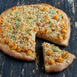 Chipotle Mac and Cheese Pizza with Kamut Wheat Cashew Crust. vegan recipe
