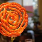 Jalebi - Indian funnel cakes soaked in flavored syrup