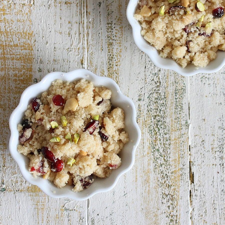 Vegan Richa: Sooji Halwa - Sheera Diwali recipe