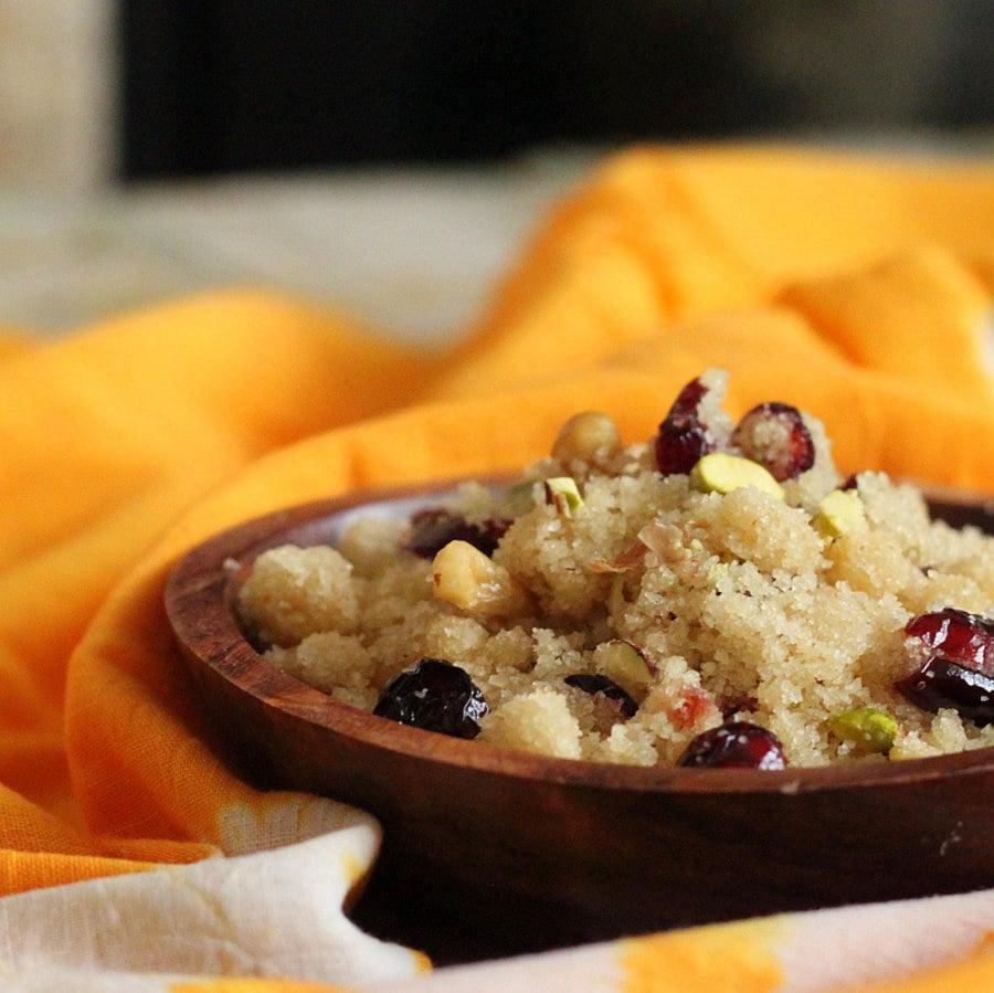 Sooji Halwa | Vegan Richa