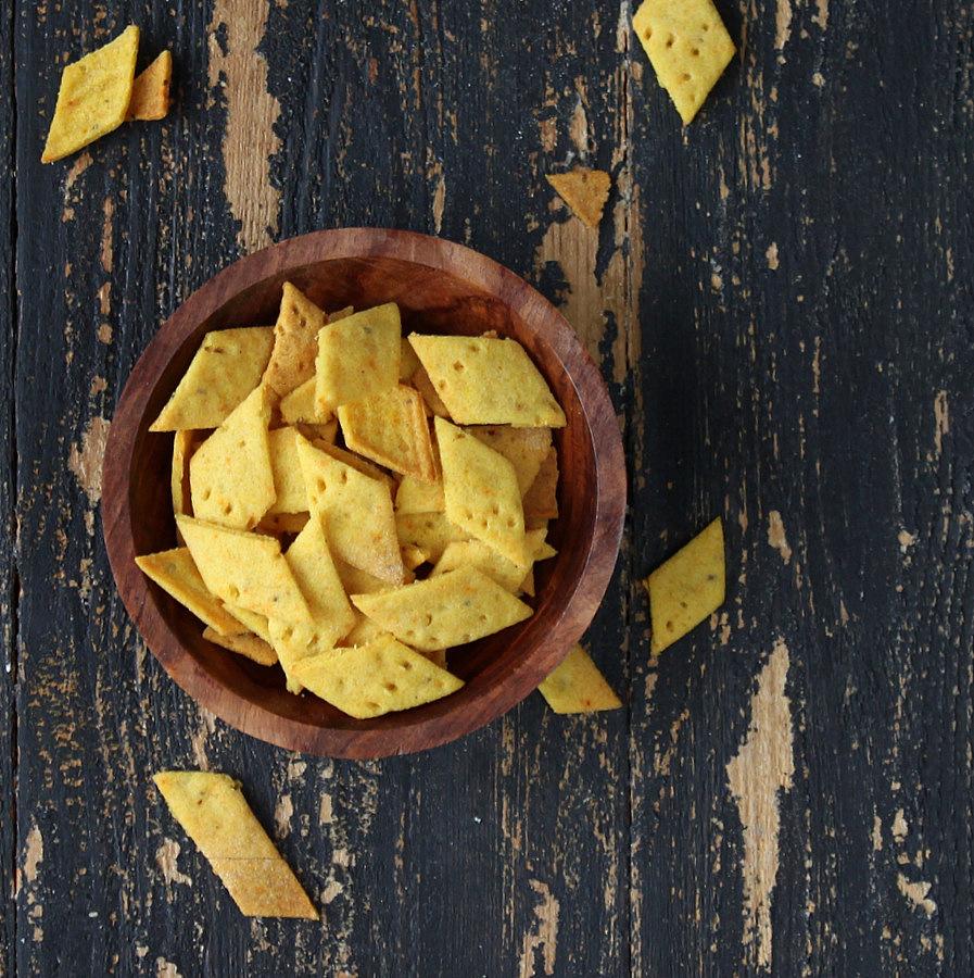 Vegan Richa: Baked Namak Paare