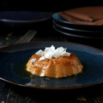 Pumpkin Pie Flan- Pumpkin custard with burnt sugar caramel. Vegan Glutenfree Recipe
