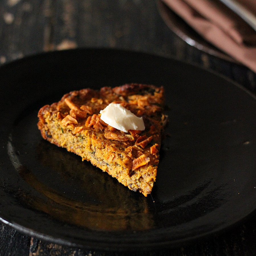 Gluten free Sweet Potato Cornbread | Vegan Richa