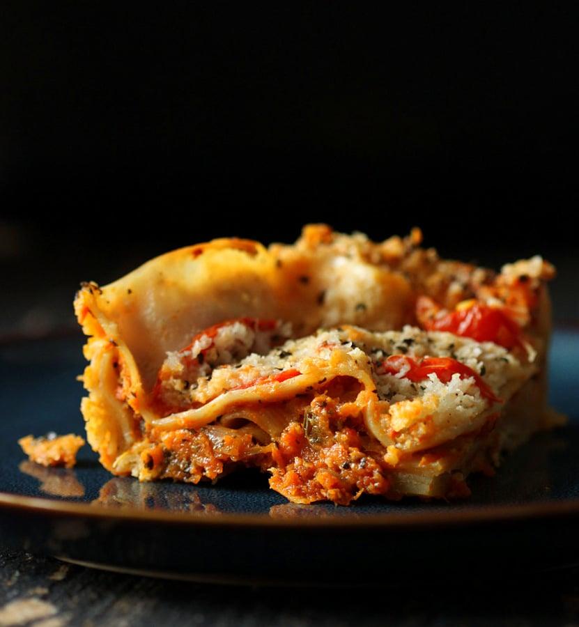 Lasagna Bolognese vegan