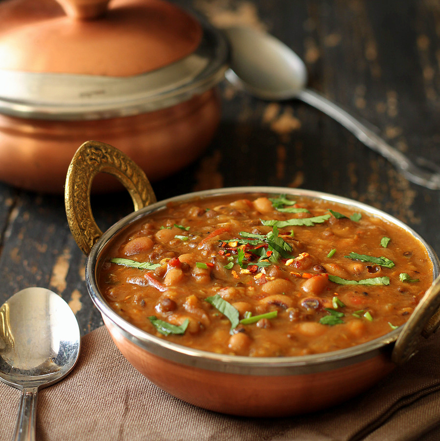 Black eyed pea bean soup- Mixed Dal