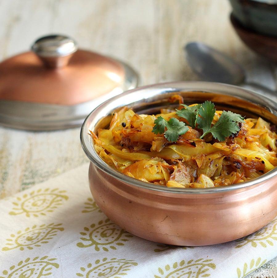 Piri Piri Cabbage and Potatoes