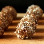 No Bake Vegan Truffles – Coconut, Gingerbread, Chocolate, Candy Cane. glutenfree
