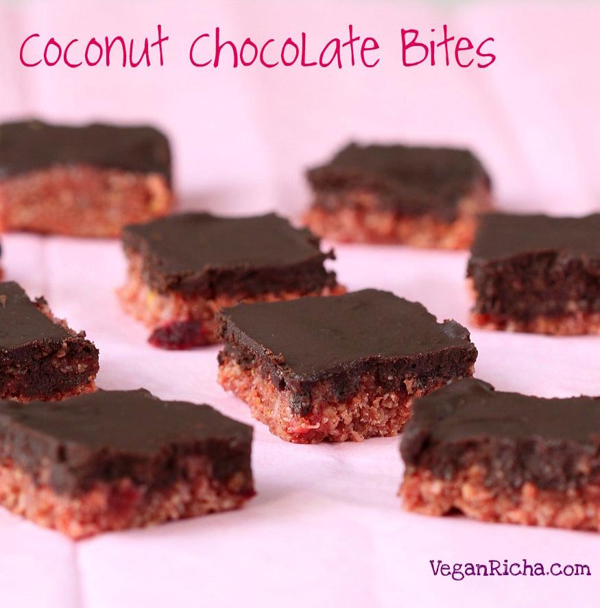 Zesty Pink Lemon Coconut Chocolate Bites. Vegan Glutenfree Recipe ...
