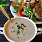 Somer's Vegan Cream of Mushroom Soup. Vegan Gluten-free Oil-free Recipe