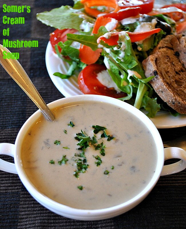 Vegan Cream of Mushroom Soup | Vegan Richa