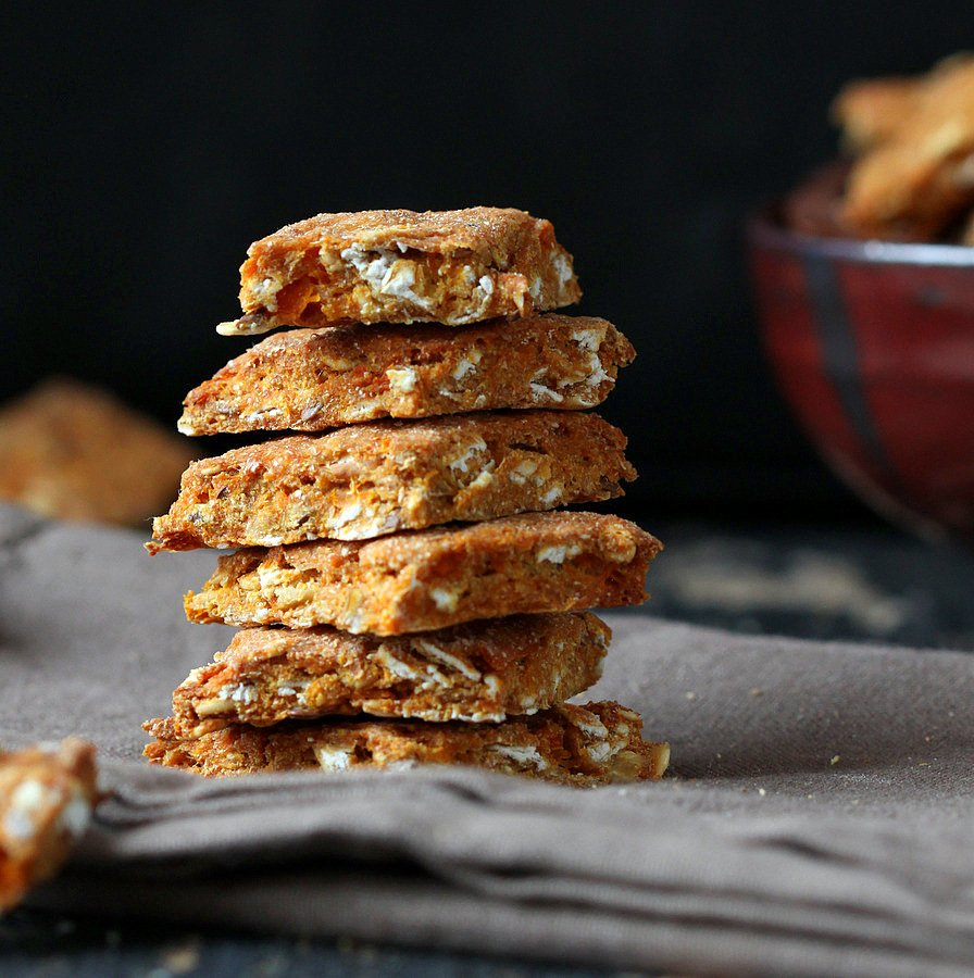 Butternut Biscuits for Dogs