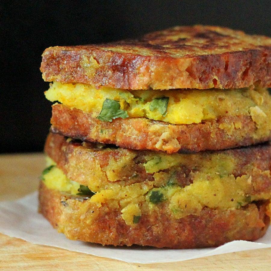 Samosa Stuffed French Toasts Vegan Recipe Vegan Richa