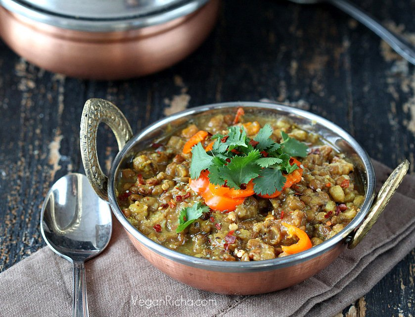 Broccoli Dal/Dahl. Mung Bean and Red Lentil Stew with Broccoli