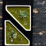 Kale Spinach Ginger Miso Soup. Vegan Glutenfree Recipe