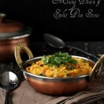 Mung Bean Dal and Pigeon Pea Stew. Mung Aur Toor Daal. Vegan Glutenfree Recipe
