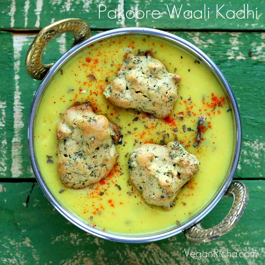 Spiced Yogurt gravy with Baked Broccoli Fritters – Pakore waali ...