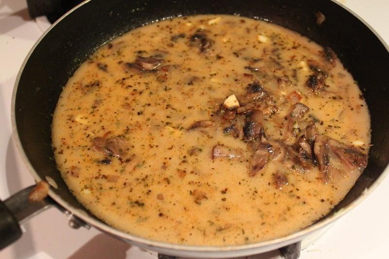 Cauliflower Steaks with Mushroom Gravy   http://veganricha.com #Vegan #Glutenfree #holiday #Cauliflower