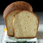 Easy White Sandwich Bread to make grilled sandwiches. Vegan Soy-free corn-free Palm oil free Recipe. can be made nut-free